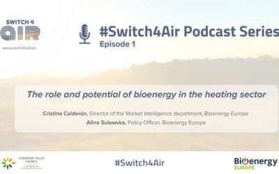 #Switch4Air Podcast Series: the role and potential of bioenergy in the heating sector