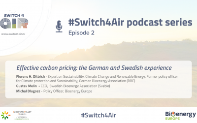 #Switch4Air Podcast Series: Effective carbon pricing – the German and Swedish experience